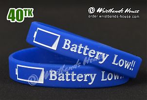 Battery Low 1/2 Inch