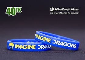 Imagine Dragons Blue 1/2 Inch