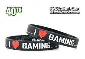 I Love Gaming Black 1/2 Inch