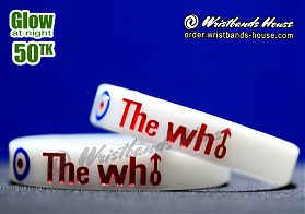 The Who White Glow 1/2 Inch