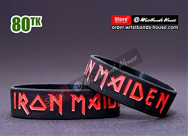 Iron Maiden Black 3/4 Inch