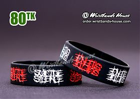Suicide Silence Black 3/4 Inch