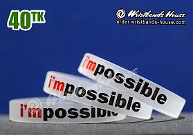 I'm Possible Transparent 1/2 Inch