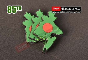 Freeze Magnet Bangladesh Map