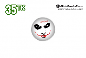 Why So Serious 32mm Badge