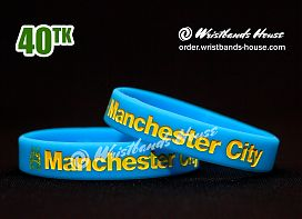 Manchester City Blue 1/2 Inch