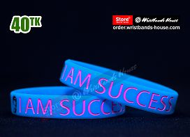 I am Success Blue 1/2 Inch