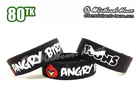 Angry Birds Black 3/4 Inch