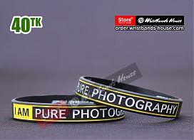 I Am Pure Photography Black 1/2 Inch