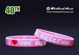 One Direction Pink 1/2 Inch