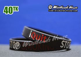 Stop Smoking Black 1/2 Inch
