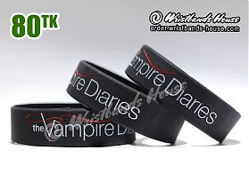 The Vampire Diaries Black 3/4 Inch