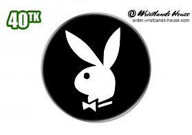 Playboy Badge