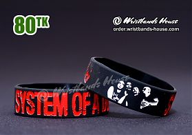System of a Down Black 3/4 Inch