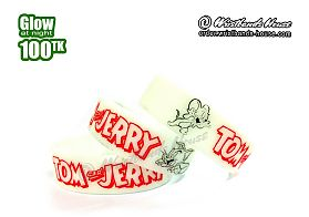 Tom & Jerry White Glow 3/4 Inch