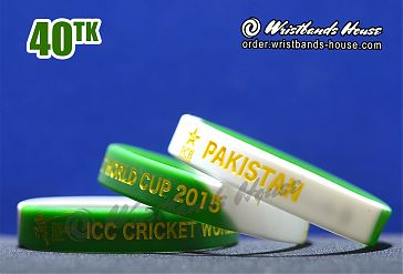 Pakistan ICC Green-White 1/2 Inch