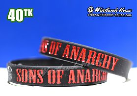 Sons of Anarchy Black 1/2 Inch