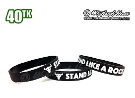 Stand Like a Rock Black 1/2 Inch