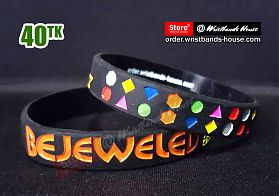 BEJEWELED BLITZ Black 1/2 Inch