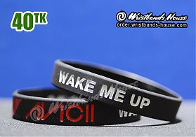 Avicii Wake Me Up Black 1/2 Inch