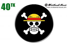 Luffy Logo Badge