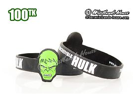 Hulk Figured Wristbands Black