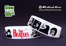 The Beatles White Glow 3/4 Inch