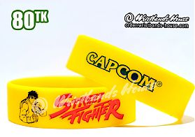 Street Fighter Yellow 3/4 Inch