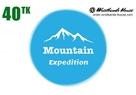 Mountain Cyan Badge