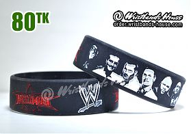Wrestle Mania Black 3/4 Inch