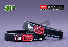 Youtube Black 1/2 Inch