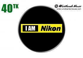 I am Nikon Badge