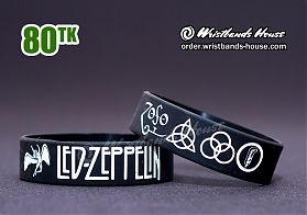 Led-Zeppelin Black-White 3/4 Inch