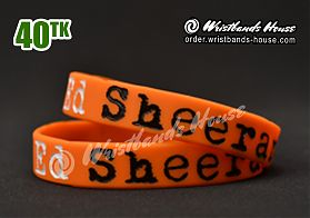ED Sheeran Orange 1/2 Inch
