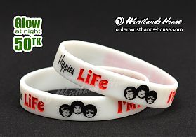 Hippies Life White Glow 1/2 Inch