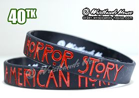 American Horror Story Black 1/2 Inch