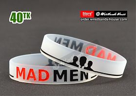 Mad Men Tranparent 1/2 Inch