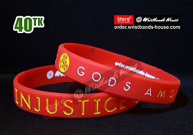 Injustice Red 1/2 Inch