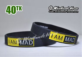 I am Mad Black 1/2 Inch