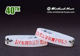 Avenged Sevenfold Transparent 1/2 Inch