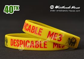Dispicable Me 3 Yellow 1/2 Inch