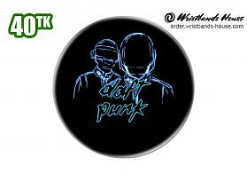 Daft Punk Badge