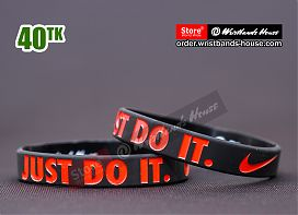 Just Do It Black 1/2 Inch