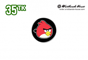 Angry Birds 32mm Badge